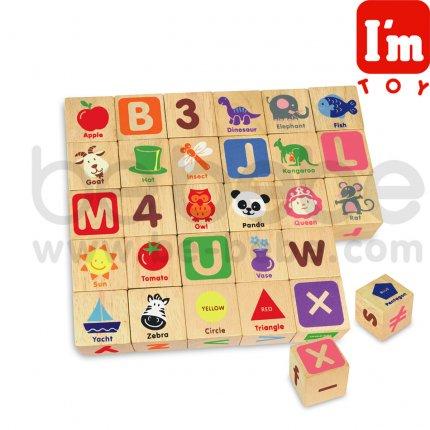 I\'m : บล๊อคลูกเต่าอักษร ABC