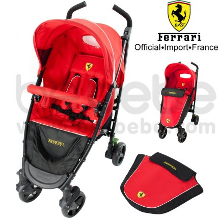 รถเข็นเด็ก Ferrari:Stroller P7 Iron 4R+Foot cover
