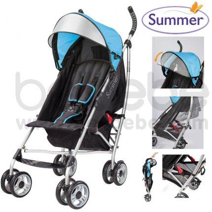 รถเข็นเด็ก Summer : 3D lite™ Convenience Stroller (Caribbean Blue) #21650