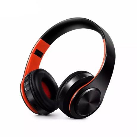 Casque Audio Mp3 Bluetooth Pliable avec carte SD