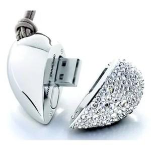 Clé USB Coeur