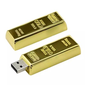 Clé USB 3.0 Lingot d'or