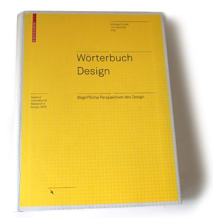 cover of design dictionary