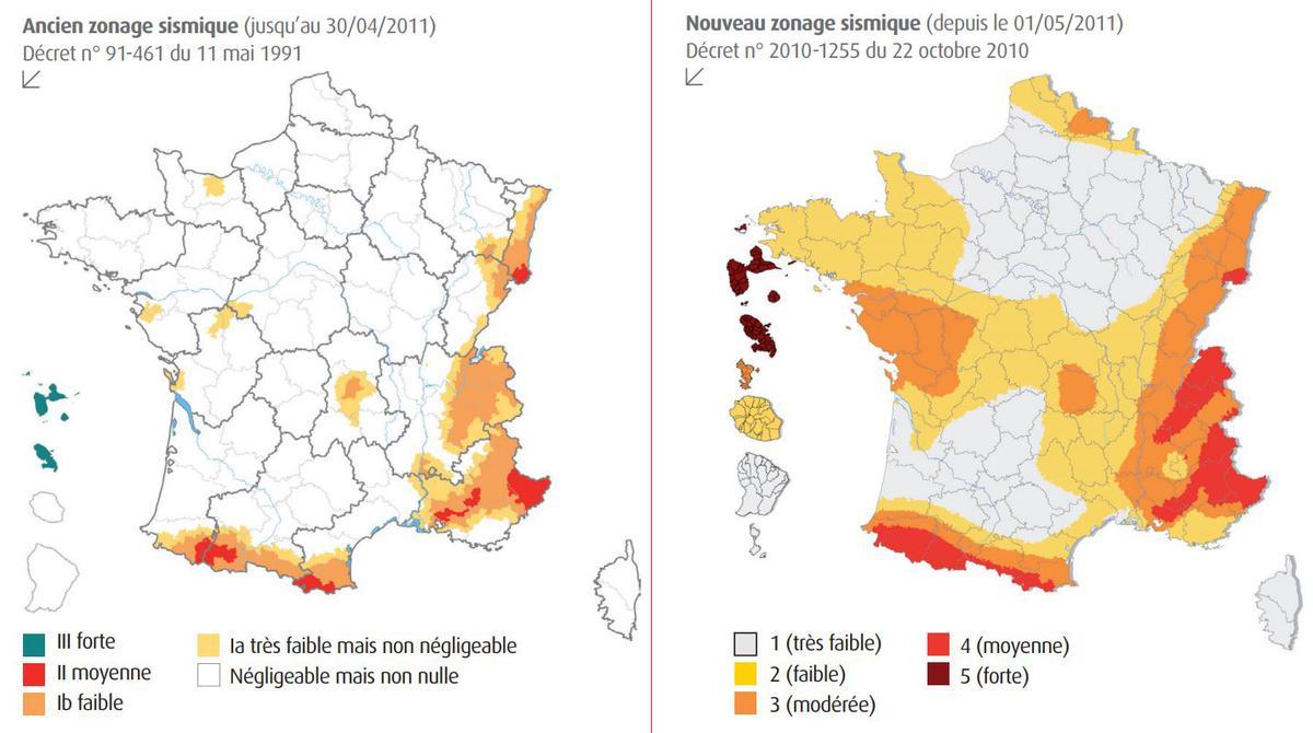 LE ZONAGE SISMIQUE DE LA FRANCE POURQUOI ET COMMENT A T