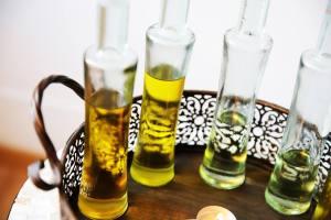 Ayurvedischen Öle für die Massage