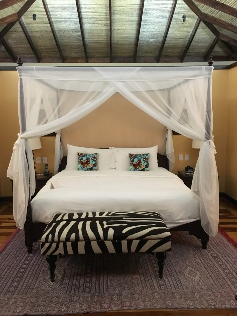 The super swish Nayara Resort Villa Bed 14