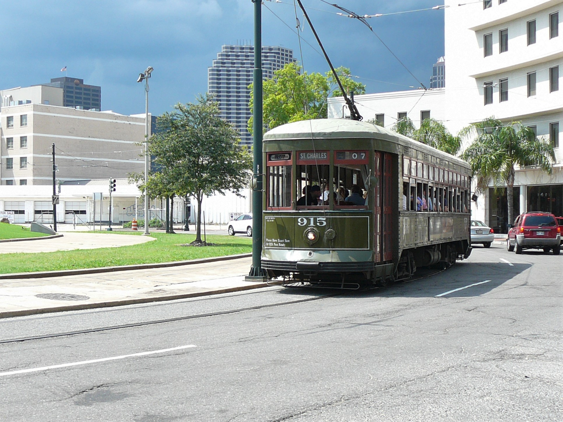 Street Car in New Orleans