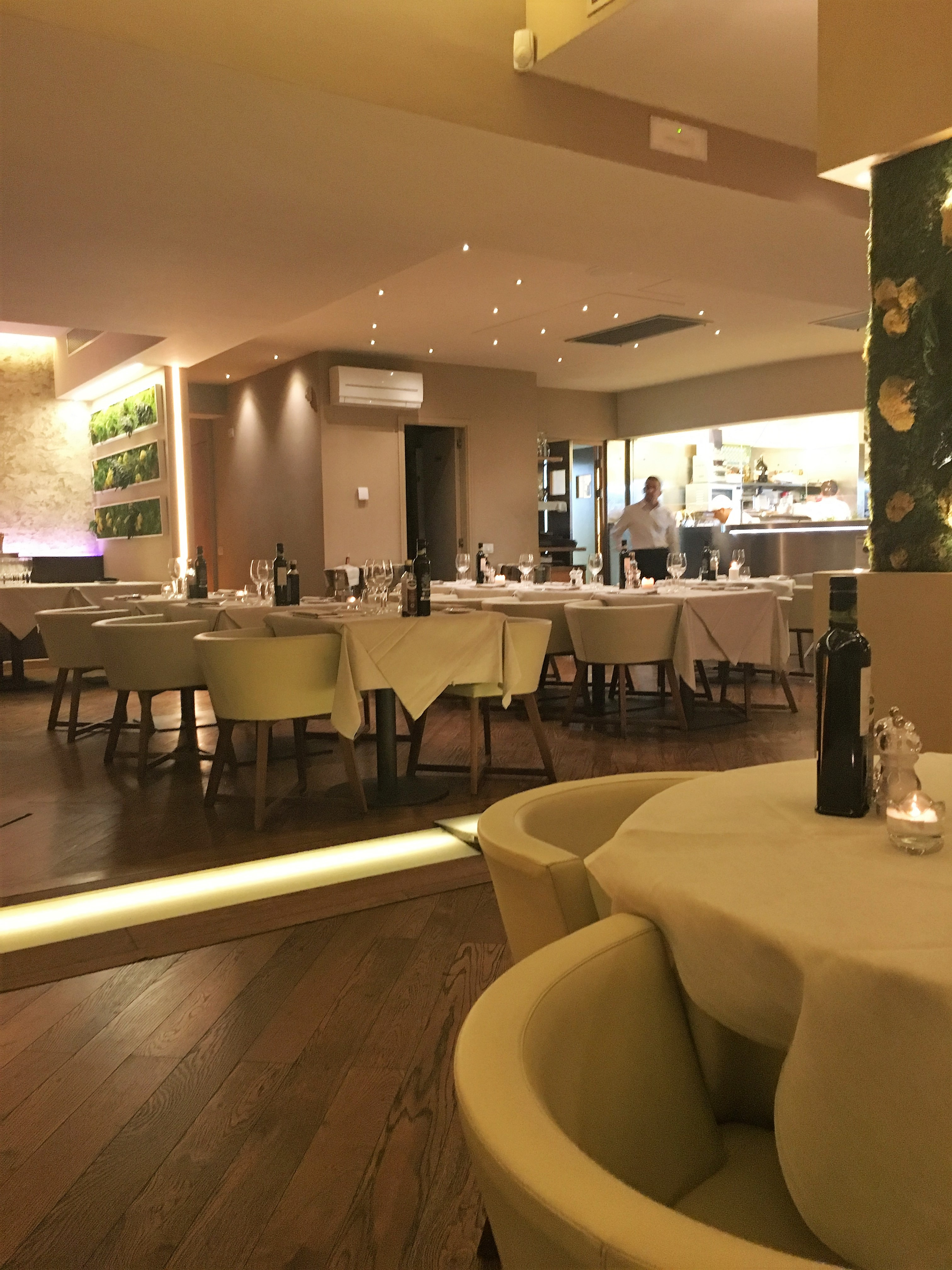 Fine dining in Florence Lungarno Bistrot