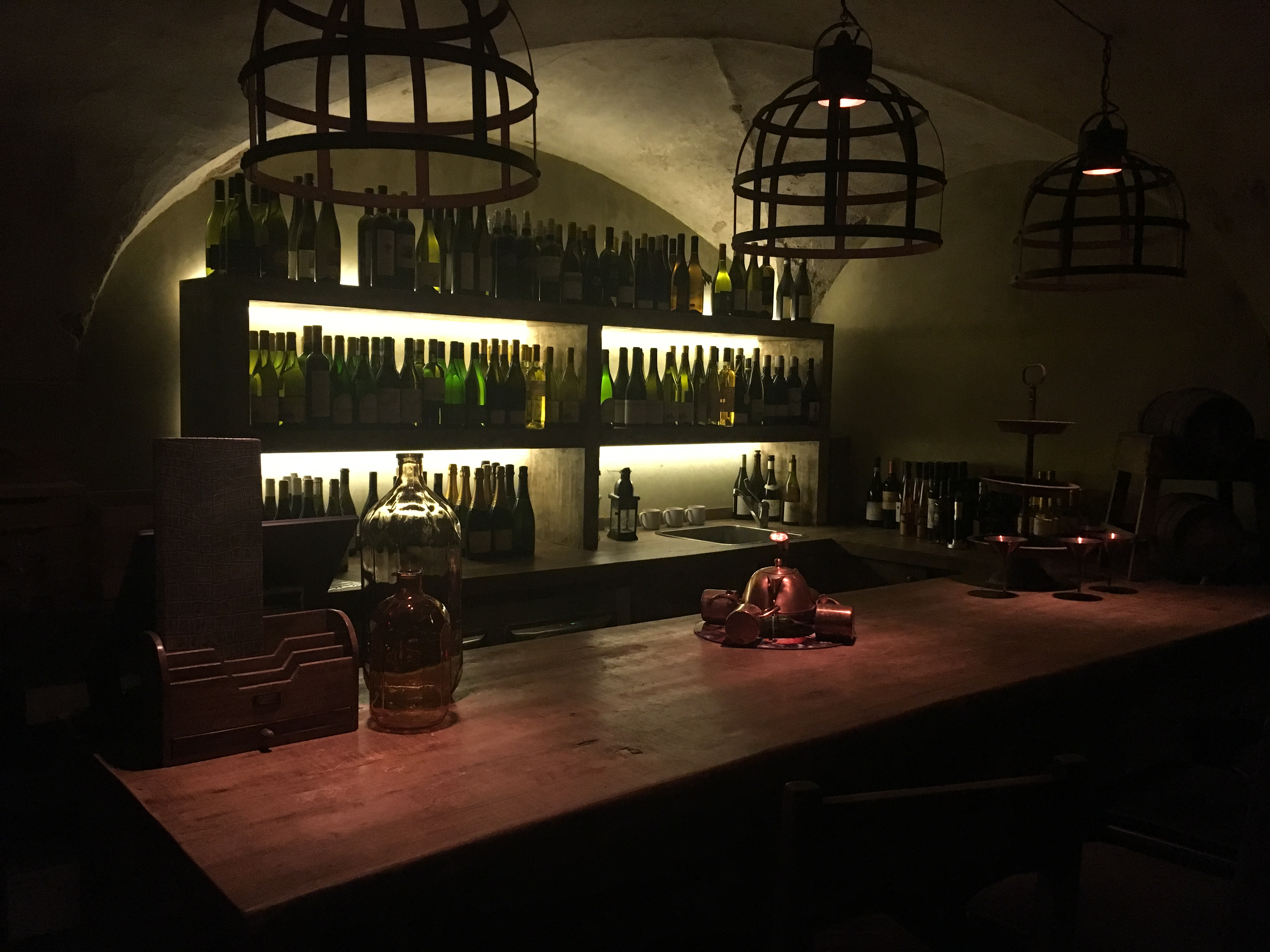 Locale Firenze Basement Private Dining Rooms