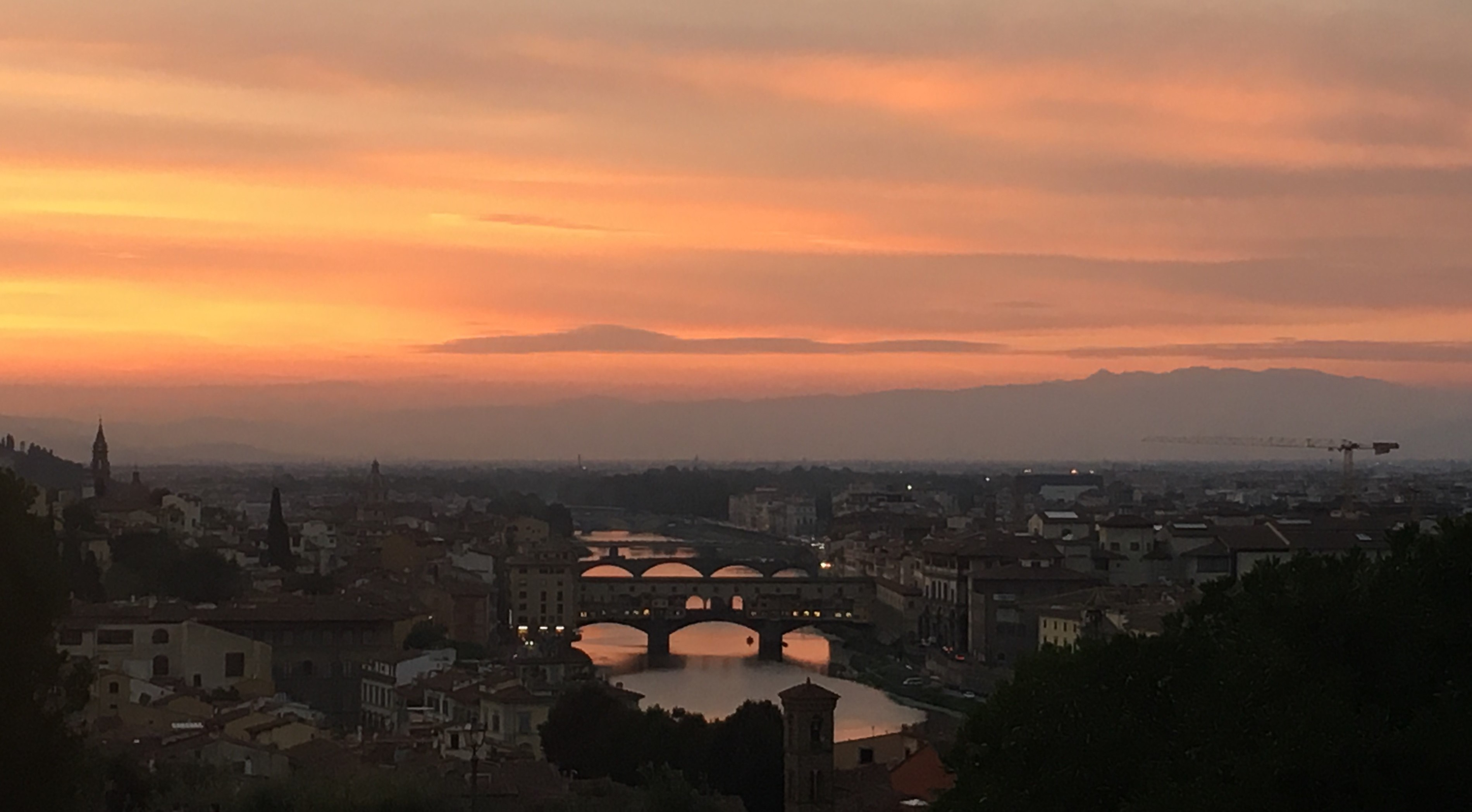 8 things I rediscovered in Florence Piazalle Michelangelo
