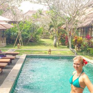 Chili Ubud Cottages, Hotel, Ubud, Bali, Pool, Women, Nature, Beauty