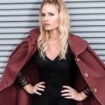 miriam ernst model zara dress black naulover jacket ootd fashionblog
