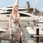 dress for wedding, elegant, mention tomas, miriam ernst, fashion blogger, blonde, one ocean, yacht, girl, power