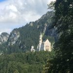 Castle, Neuschwanstein, Schloss, Bavaria, Mountains, Forrest
