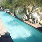 Cadaques, Travel blog, Dali's Villa, Pool