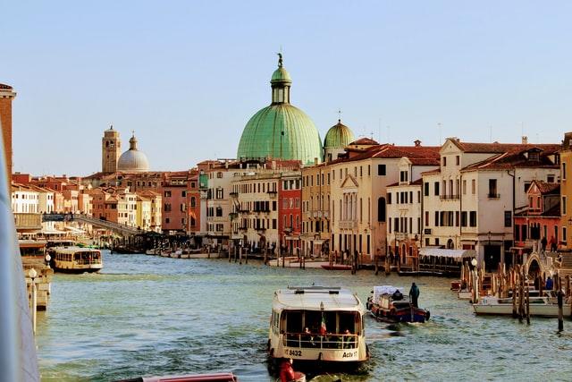 Italien,Venedig,Wasser,Gondeln