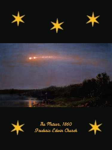 The Meteor - Frederic Edwin Church - 1860