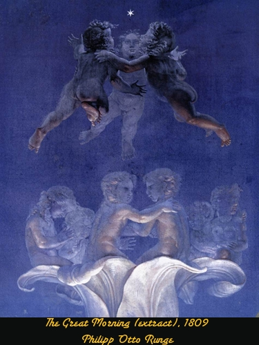 The Great Morning - Philipp Otto Runge - 1809