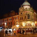 Blackpool Grand Theatre at night