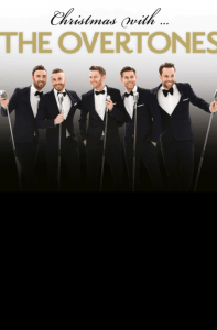 Christmas with The Overtones at the Winter Gardens Blackpool Friday 25th November 2016.