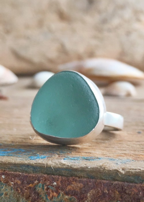 Sea Glass Statement Ring