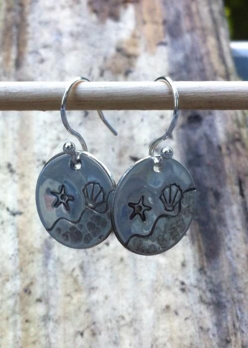 Shoreline earrings