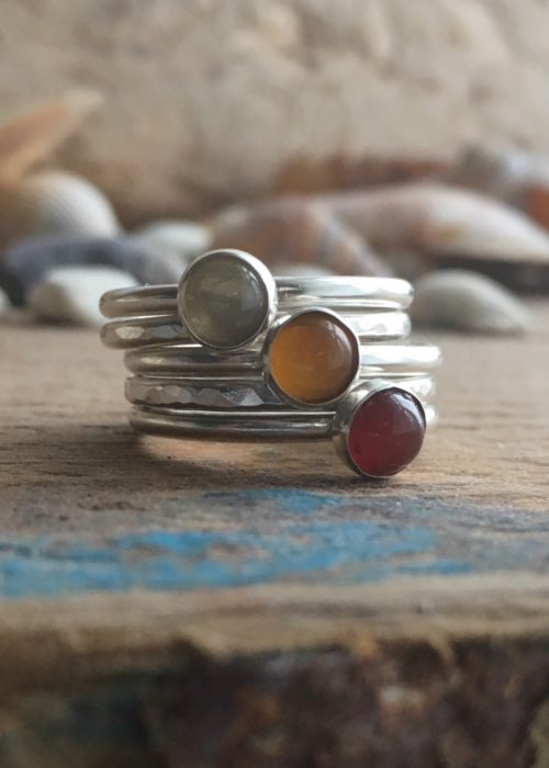 Sunset Stacking Rings
