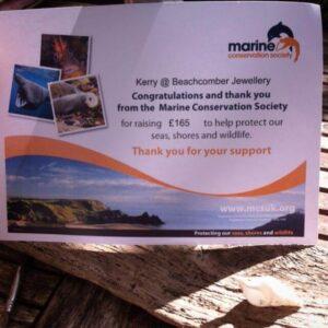 Marine Conservation Society Donation