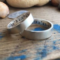 5 mm and 6 mm bands with secret messages