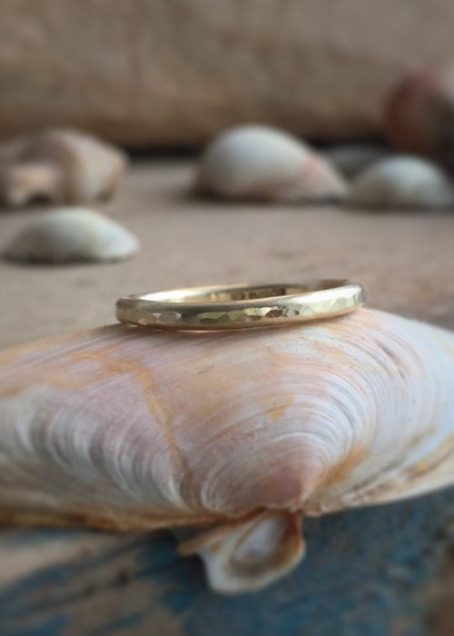 Seren - recycled gold ring