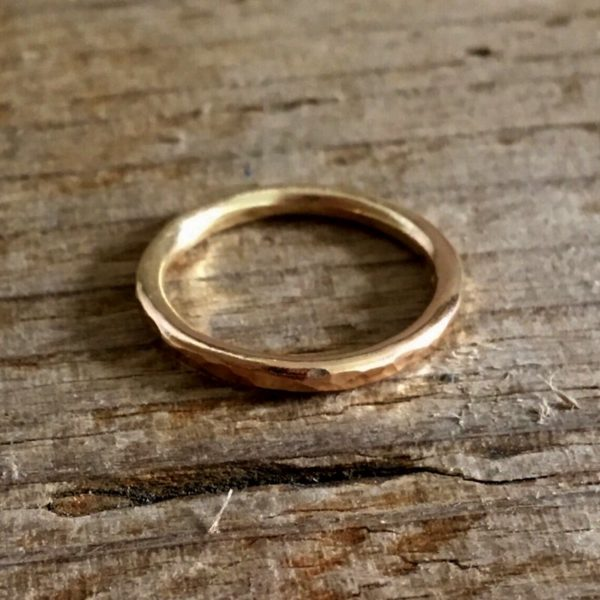 seren – recycled gold ring