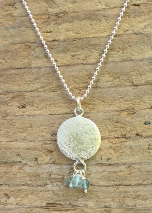 sea and sand dangle pendant