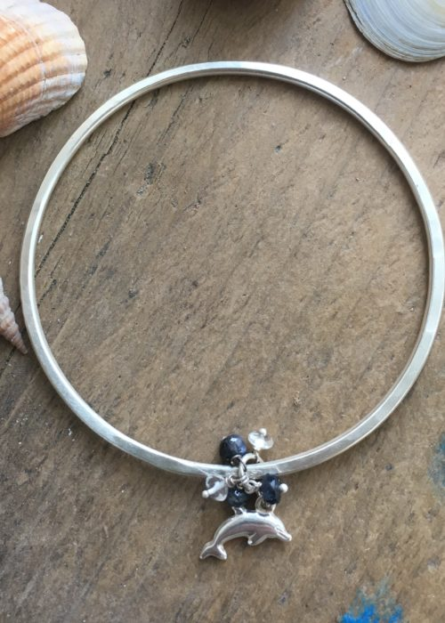 Dolphin watching bangle