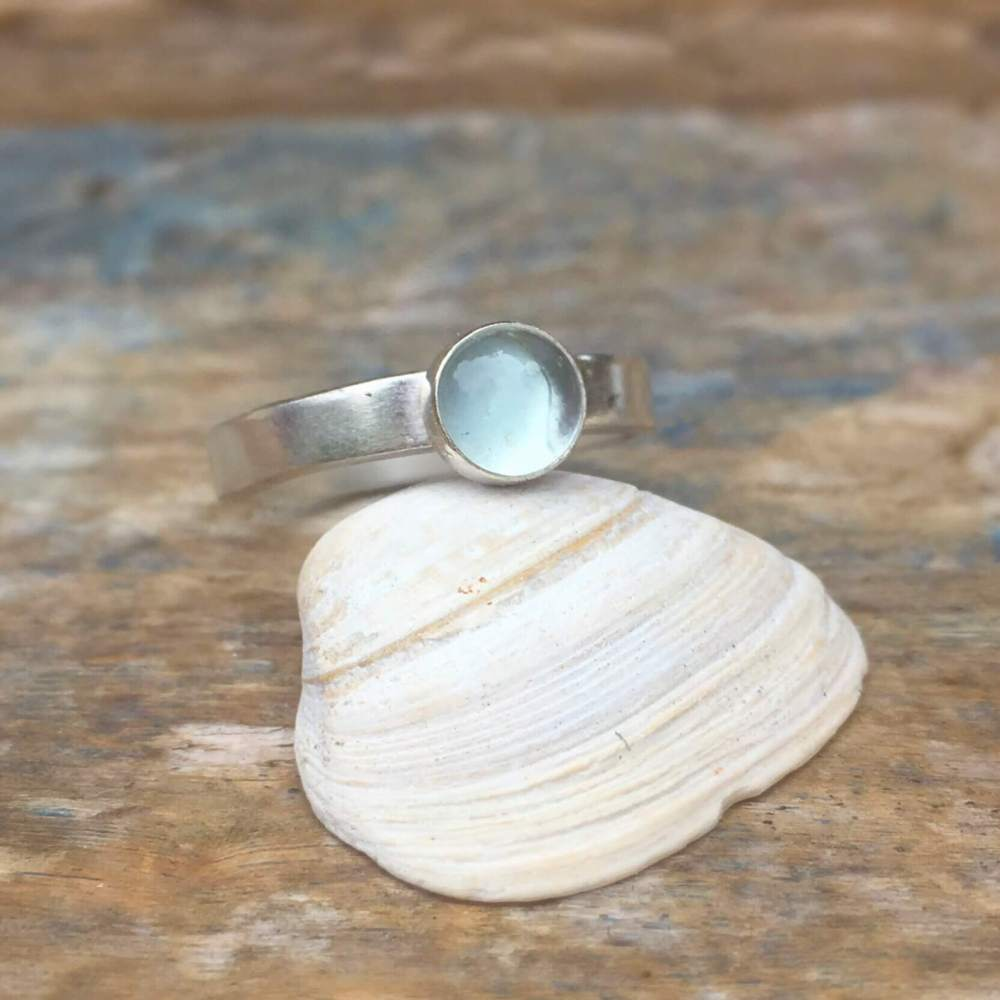 shallow water topaz ring