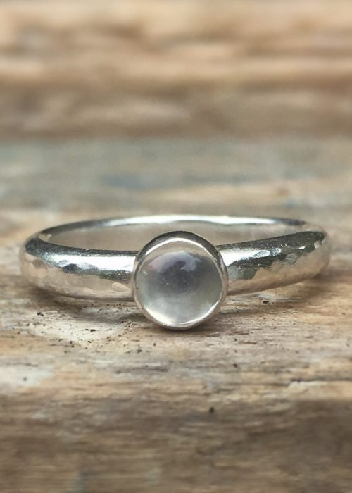Blue Moon Moonstone Ring
