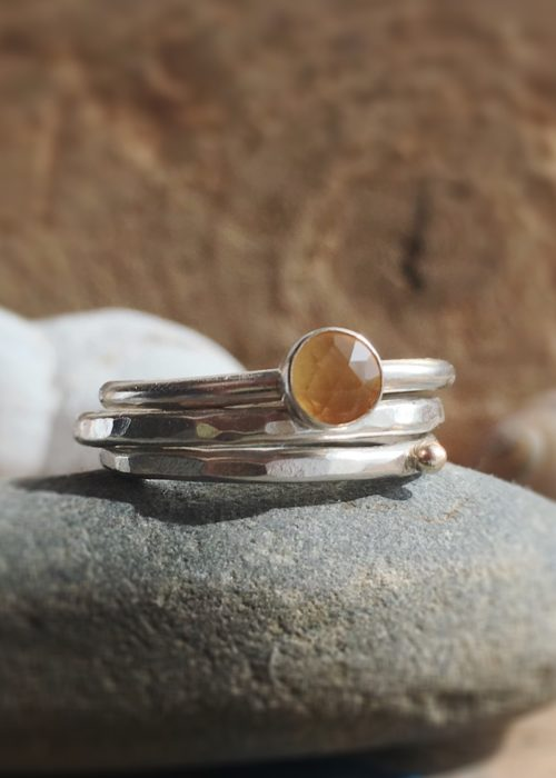 Sunny Day Stacking Rings
