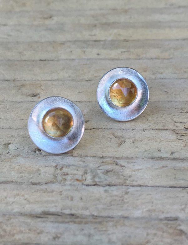 sunshine stud earrings