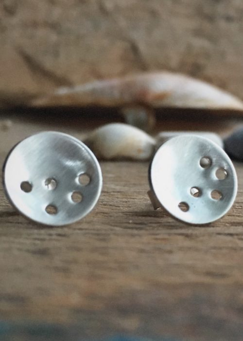 Holes Stud Earrings
