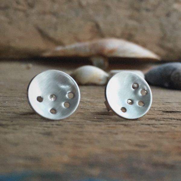 Holes Stud Earrings