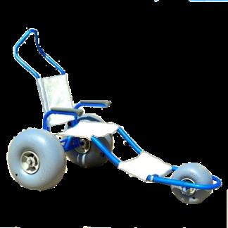 Sand Rider Amphibious Beach Wheelchair