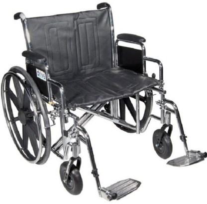 Manual Wheelchair - Heavy Duty