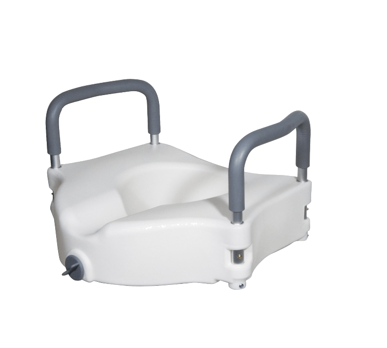 Toilet Seat Riser With Arms.Toilet Seat Riser With Removable Arms Beach Crossers