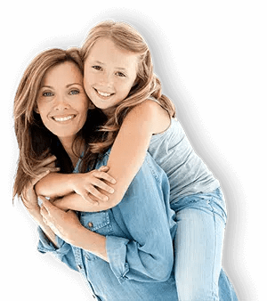 mother and daughter smiling because they recently visited their Mona Vale dentist in Northern Beaches