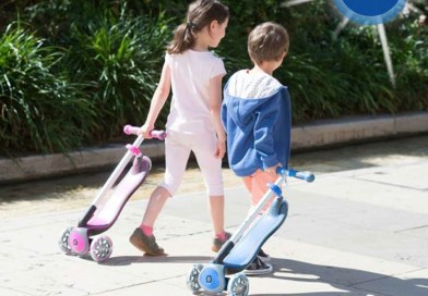 WIN a Globber MyFREE Fold UP Scooter