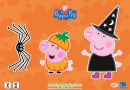 Peppa Pig Halloween activity sheets