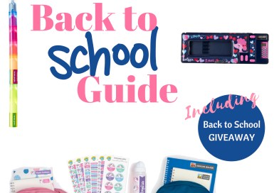 Back to School Guide 2019 + GIVEAWAY