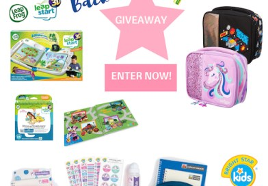 Back to School Giveaway worth over $300
