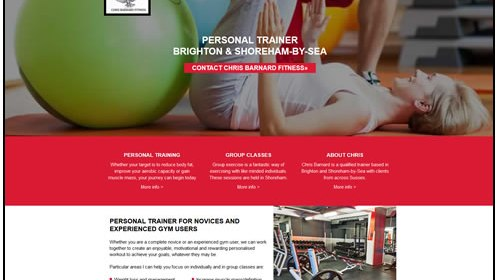 Chris Barnard Fitness, personal trainer Brighton and Shoreham