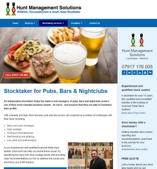 Hunt Management Solutions in Wiltshire, Glocuestershire and the South West, website by Beach Hut Studio