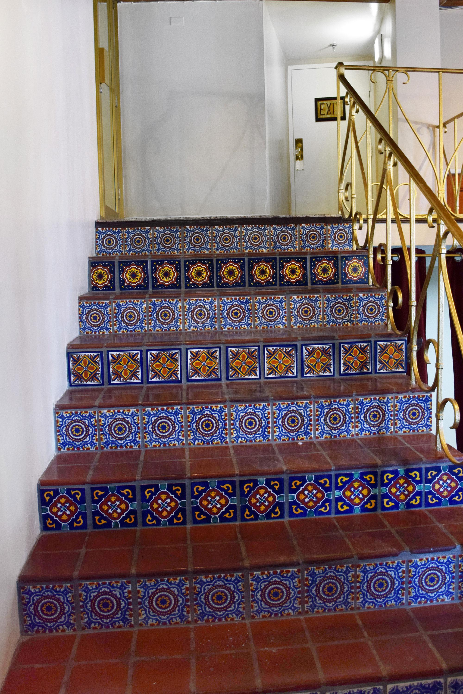 Stairways at Beach Park Hotel